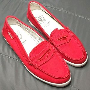 Cole Haan Pinch Maine Classic Canvas Loafers